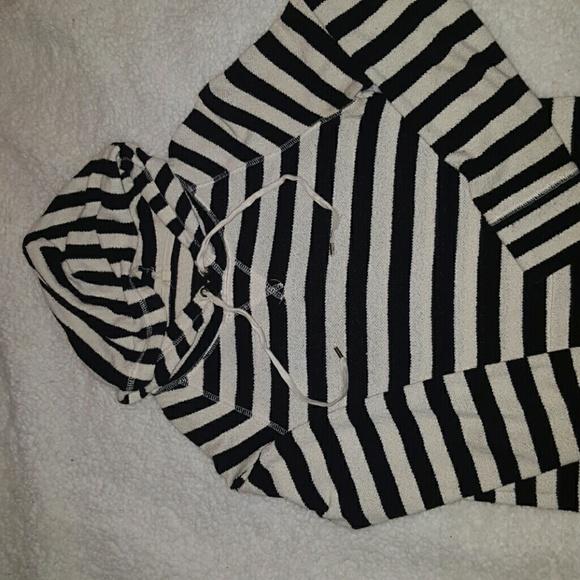 Jcrew terry cotton hooded sweatshirt