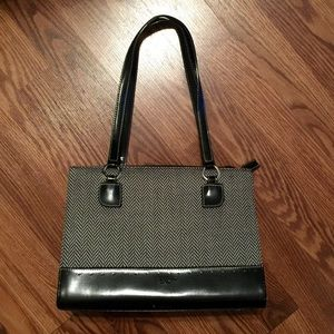 Kate Spade herringbone shoulder bag