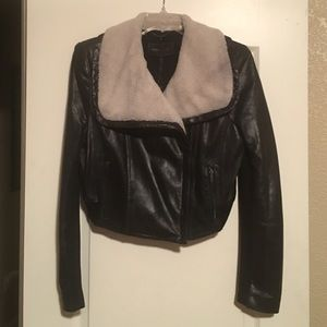 🆕LISTING Black Lamb Leather Biker Jacket