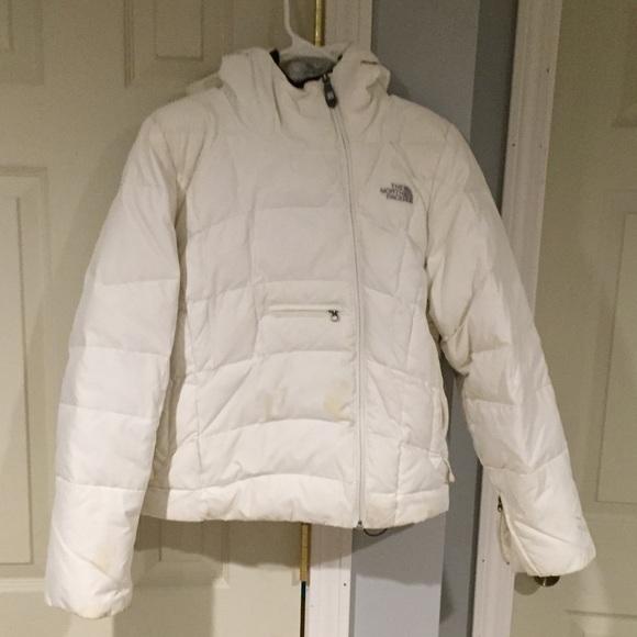 6f308a24f North Face side zip down 600 puffer ski coat