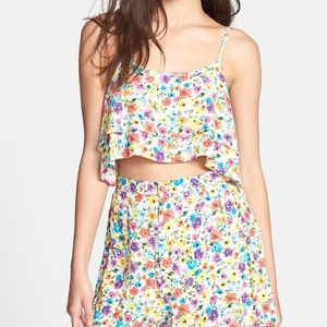 Urban Outfitters Tops - NWOT Urban Outfitters Floral Crop Top