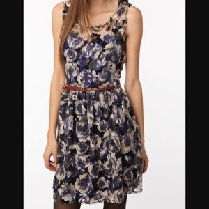 Urban Outfitters Dresses & Skirts - Urban Outfitters Black and White Floral Lace Dress