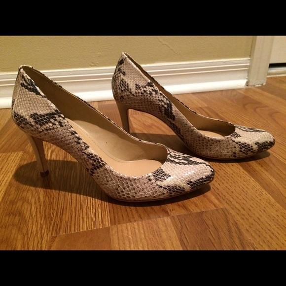 b4add9d6ede ANTONIO MELANI Shoes - PRICE DROP-Antonio Melani snakeskin design heels