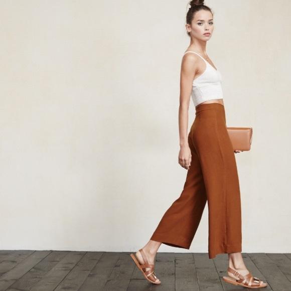 "Reformation ""Becca"" Pant - Size 2 - Burnt Orange"