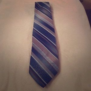 Wembley Accessories - Blue and gold tie