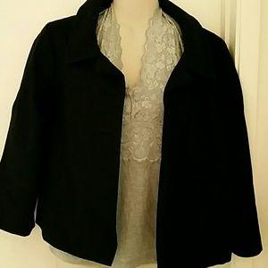 H&M Tweed Black Jacket