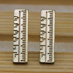 Jewelry - Ruler stud earrings