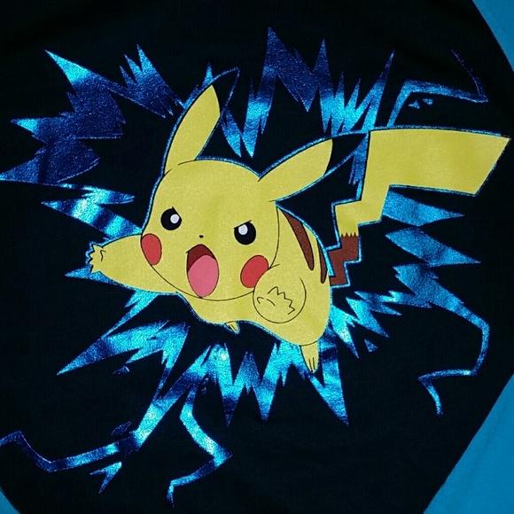 aa4a15655 Pokemon Epic Threads Shirts & Tops | Pokemon Pikachu Long Sleeve ...