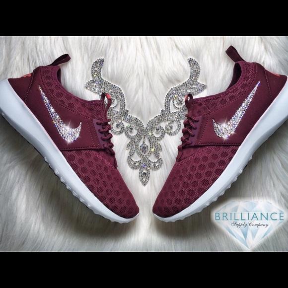 6095690b627e8 REDUCED Swarovski Nike Juvenate Burgundy