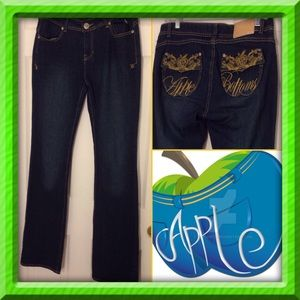 Apple Bottoms Denim - [Apple Bottoms] Picked Fresh Daily Jeans