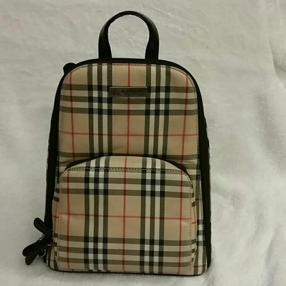 Burberry Handbags - Small Burberry backpack 20dc6de44a1af