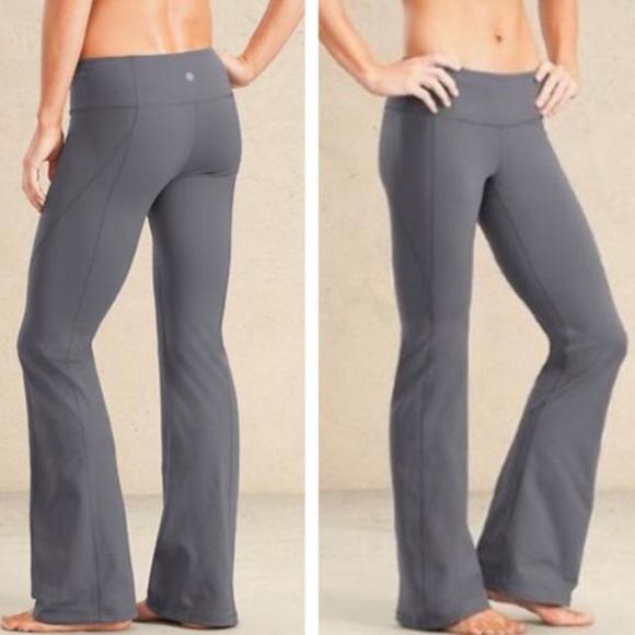 cd462ea766e52 lululemon athletica Pants | Lululemon Reversible Gray Groove Pant ...