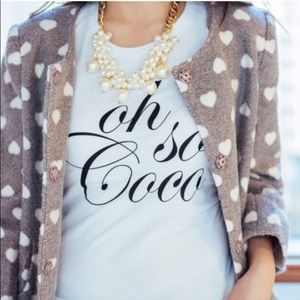 """Oh so Coco"" graphic tee"
