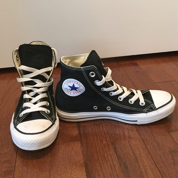 black converse womens size 7