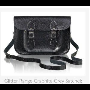 Cambridge Satchel Handbags - CAMBRIDGE SATCHEL Co. Satchel-Graphite Grey: RARE!