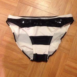 Vix Other - Vix Black & White Bikini Bottoms w/ Sequins