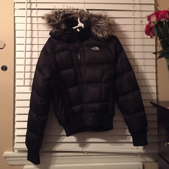 4a5eb4ca6 100% down feather NORTH FACE women's winter jacket