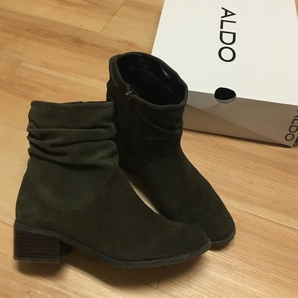 Womens Boots ALDO Isidora Black Suede
