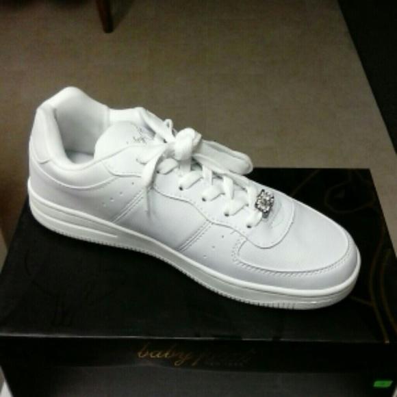Baby Phat Whitesilver Shoes Nwt | Poshmark