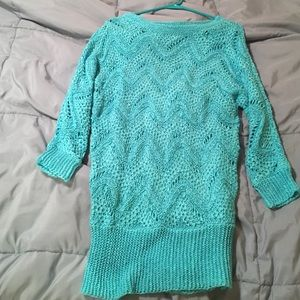 Lilly Pulitzer turquoise Larissa sweater