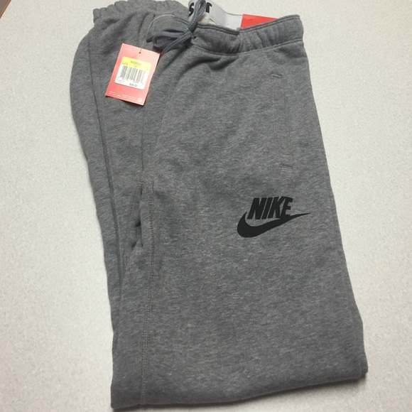 Womens Nike grey sweatpants 2f189bdc8