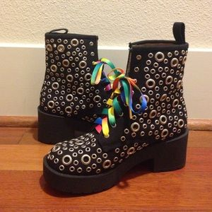 Jeffrey Campbell Shoes - 8th Eye Combat Boot
