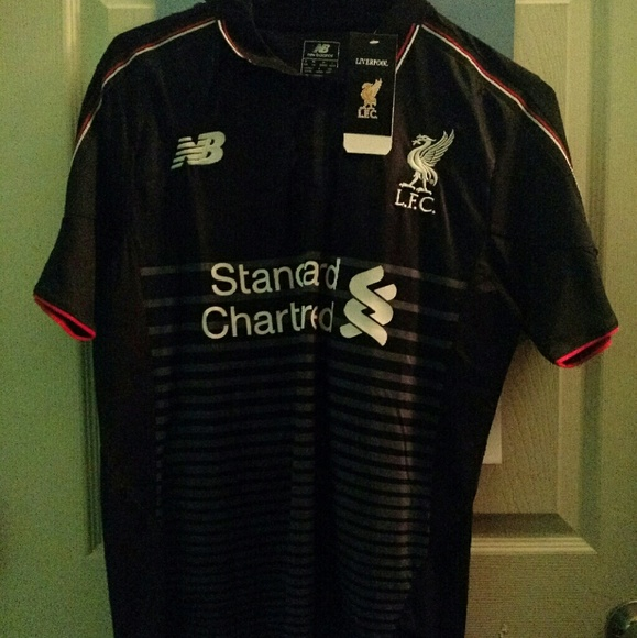 New Balance Tops - Liverpool Football Club Soccer Jersey Kit New 16