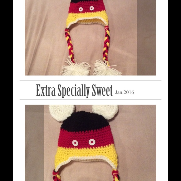 Mara Hoskin Design Accessories Crochet Mickey Mouseminnie Mouse