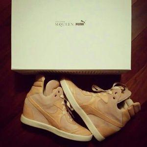 8b09af361e3 Shoes - Alexander Mcqueen x Puma Ofeya wedge sneakers