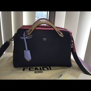 Fendi large by the way Boston bag