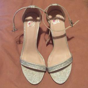 Platinum heels