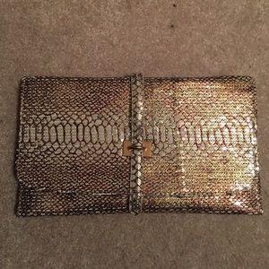 Handbags - Luxcessories Inc envelope sequin clutch