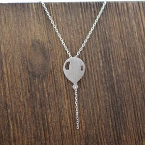 Jewelry - Ballon necklace stainless steel