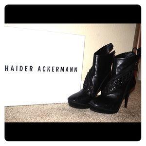 Haider ackermann  Shoes - HAIDER ACKERMANN Vitello BOOTIES