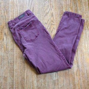 Maroon Liz Claiborne Skinny Pants / Jeans