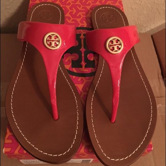 cca99e26ce3 New Tory Burch Cameron thong sandal