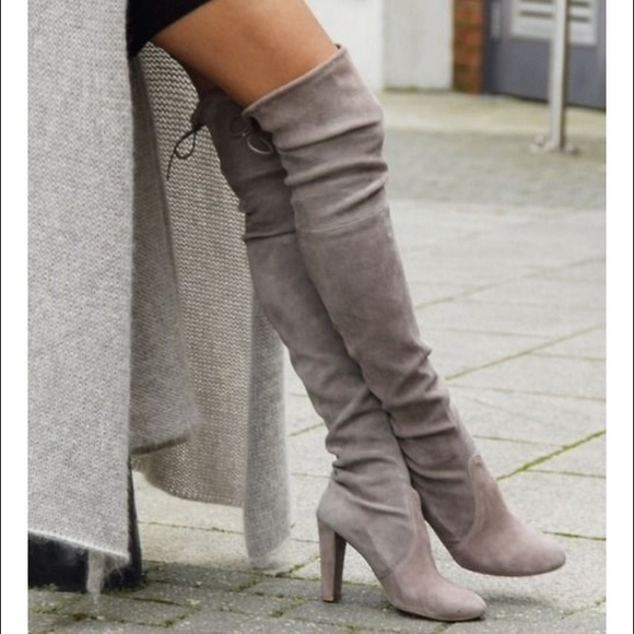Steve Madden gorgeous boots in Taupe size 6.5 BNWT