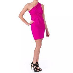 Cut25 by Yigal Azrouel Dresses & Skirts - Cut25 pink one shoulder dress
