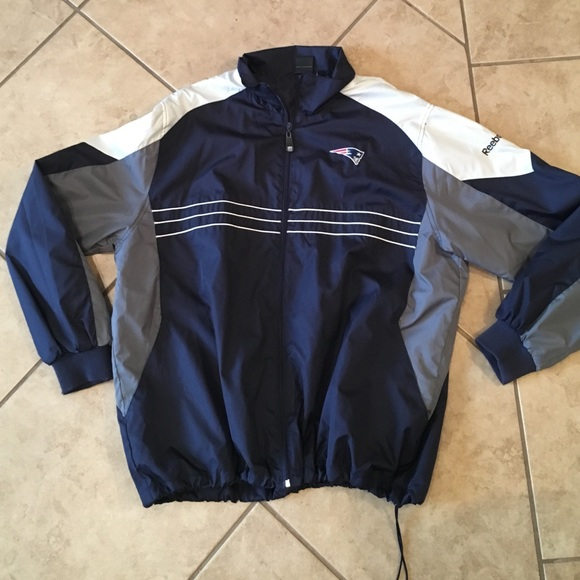 75% off Reebok Jackets &amp Blazers - New England Patriots Jacket