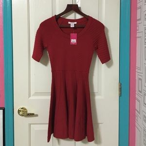 Red Candie's sweater dress
