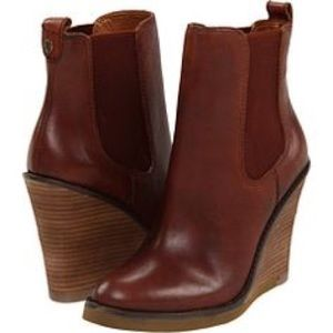 Lucky Brand Shoes - ❌‼️SOLD‼️❌Lucky Brand Fedora Leather Ankle Booties