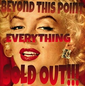 BEYOND THIS POINT EVERYTHING SOLD OUT!!!