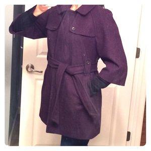Gap 3/4 Sleeve Pea Coat