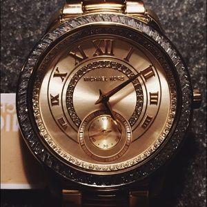 New Michael Kors Gold Watch