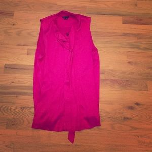 Pink Silk Theory Top