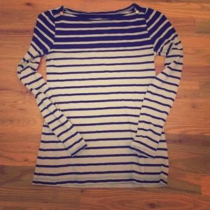 J Crew striped painter tee size s