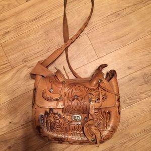 Handbags - Handmade leather saddle purse