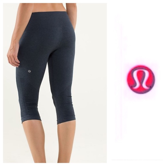 1a6d7521330 lululemon athletica Pants - Lululemon Ruched in the flow capri pants