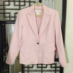 Women's blazer light pink size 8
