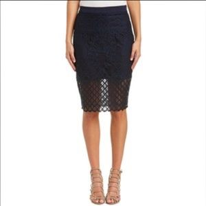 English Factory Dresses & Skirts - Mesh Scuba Skirt